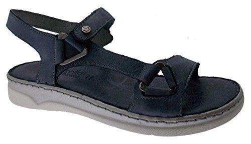 Blue Sandal Open Rose Douce Jeans Riposella 40709 Plantaire Mémoire xTwzEt