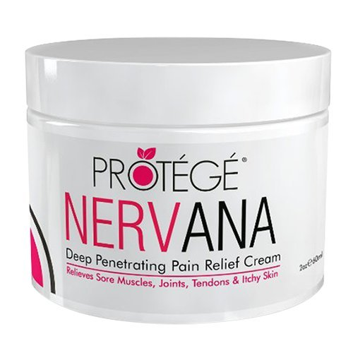 Premium Pain Relief Cream - NERVANA - Best Natural Anti-Inflammatory Topical Pain Reliever Treatment (2 oz) (Anti Pain Reliever Inflammatory)