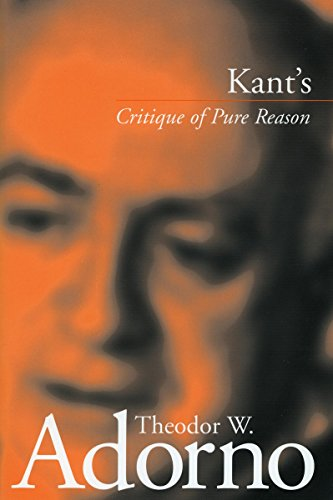 essays on kant critique of pure reason