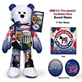 rare and hard to find Senator Obama Barack Election '08 Plush Bear