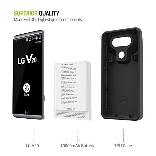 LG V20 ZeroLemon 10,000mAh Battery Case Review