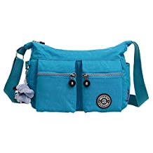 TESOON Ultra Lightweight Portable Canvas Messenger Bag Leisure Bag Free Gorilla