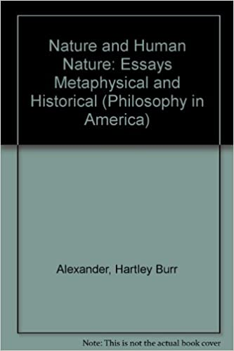 Amazon.com: Nature and Human Nature: Essays Metaphysical and ...