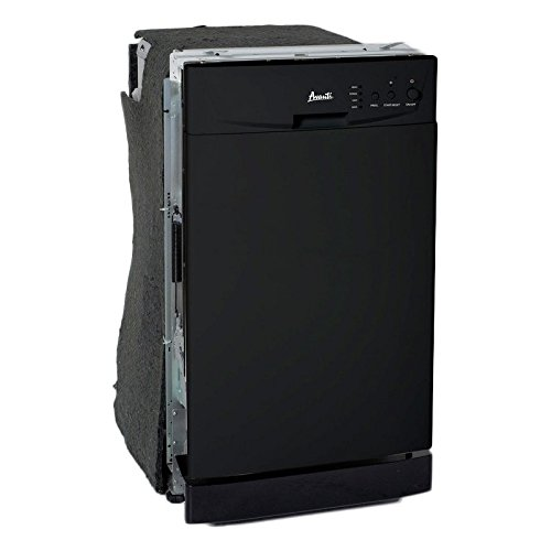 Avanti DW18D1BE Built In Dishwasher, 18