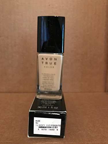 True Color Liquid Foundation - Avon TRUE Color Ideal Flawless Liquid Foundation broad spectrum SPF 15 sunscreen NUDE
