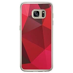 Loud Universe Samsung Galaxy S7 Edge Geomaterical Files A Geo 23 Transparent Edge Case - Multi Color