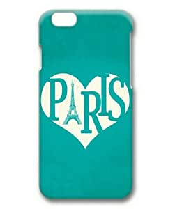 Armener Hard Protective 3D iPhone 6 Plus (5.5 inch) Case With I Love Paris