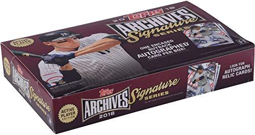 Baseball Hobby Pack - 2018 Topps Archives Signature Series Baseball Hobby Edition Factory Sealed 1 Pack Box - Baseball Wax Packs