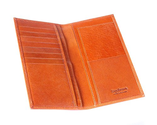 SAGEBROWN Tall Wallet Havana Tan Tall Classic SAGEBROWN Classic Wallet wOC74tq