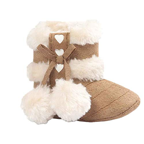 Infant Toddler Baby Girls Boys Soft Booties Snow
