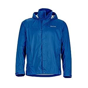 Marmot PreCip Men's Lightweight Waterproof Rain Jacket, Small, Blue Sapphire