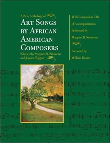A New Anthology of Art Songs by African American Composers Cover Art