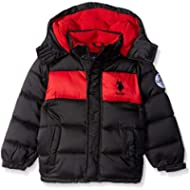 [Sponsored]U.S. Polo Assn. Boys' Sporty Bubble Jacket