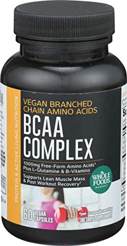 Whole Foods Market, BCAA Complex, 60 ct