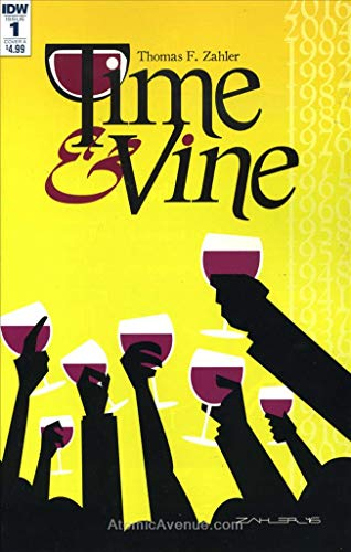 Time & Vine #1A VF/NM ; IDW comic book