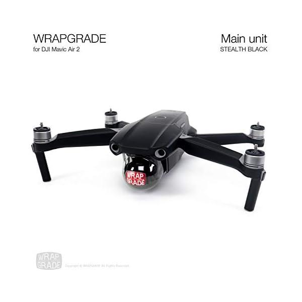 WRAPGRADE Main Unit Skin Compatibile con Mavic Air 2 (Stealth Black) 3 spesavip