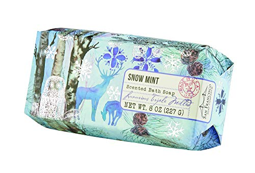 San Francisco Soap Company Snow Mint Pillow Box Soap 8 oz