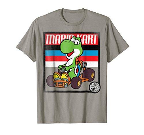 Nintendo Mario Kart Yoshi Old School Graphic T-Shirt
