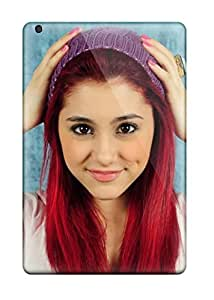 Oscar M. Gilbert's Shop 5145466K88000920 Scratch-free Phone Case For Ipad Mini 3- Retail Packaging - Ariana Grande
