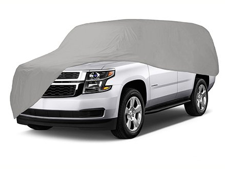 Gran Prix Collection (CoverMates - Semi-Custom Car Cover - Up to 18' - Select Collection - 4 YR Warranty- Grey)