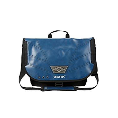 Fallout Vault-Tec Canvas & PU Messenger Bag