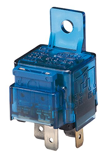 12V with holder with fuse main current HELLA 4RA 003 530-001 Relay