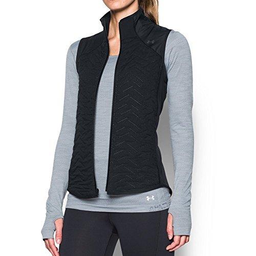Under Armour Women's ColdGear Reactor Fleece Vest,Black (001)/Black, Medium by Under Armour