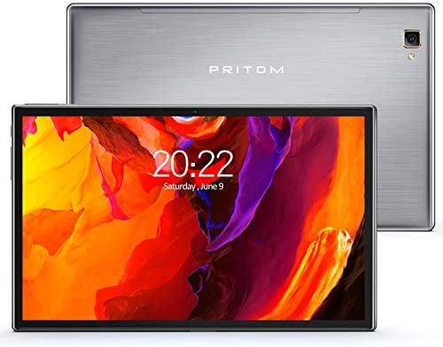 PRITOM L10 10 inch Tablet,3 GB RAM,32GB ROM,Android 10.0 Tablet,IPS HD Display,Octa-core Processor,GPS,FM,Type-C,Bluetooth 5.0,WiFi 2.4&5G,Double Speakers