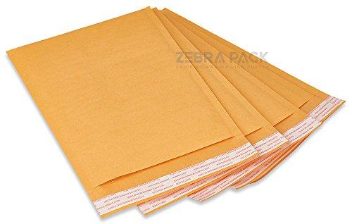 Buy 500 #000 kraft bubble padded envelopes mailers 4 x 8