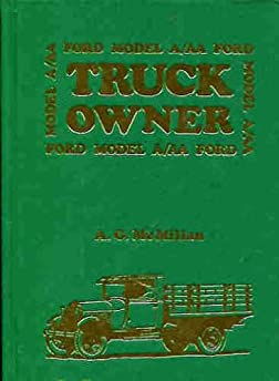 ford model a and model aa car truck owners instruction rh amazon com 1956 Ford Owners Manuals 1956 Ford Owners Manuals