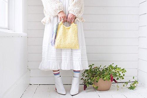 Loopy Mango DIY Knit Kit - Cotton Mini Market Bag (APRICOT) by Loopy Mango (Image #3)