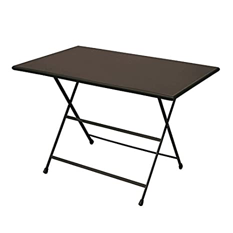 Tavoli E Sedie Da Giardino Emu.Emu Tavolo Pieghevole Arc En Ciel 110x70 Da Esterno Giardino Amazon