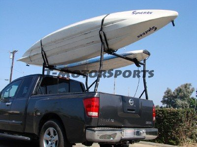 TMS 4 SETS ~ J-Bar Rack HD Kayak Carrier Canoe Boat Surf Ski Roof Top Mount Car SUV Crossbar
