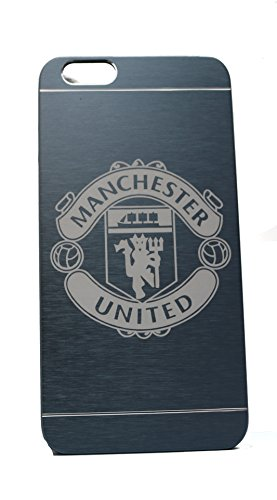 Manchester United F.C. Football/Soccer Team Custom Engraved On A Blue Aluminum IPhone 6 Plus or 6S Plus Case (AL6P-MANU-BLUE)