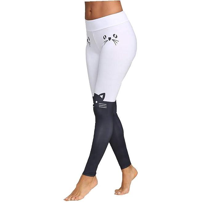 LEvifun Pantalones Pantalones Yoga Mujeres, Yoga de Cintura ...
