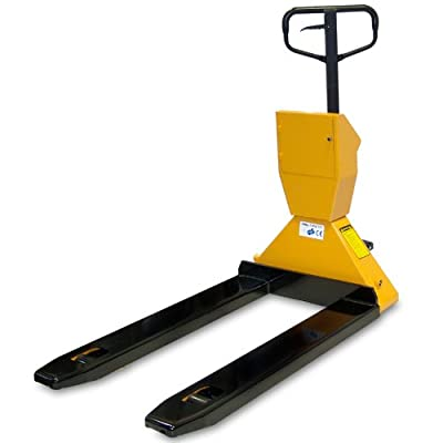 JORESTECH Scale Pallet Jack Truck 4400 Lbs (2000 Kg) With Printer