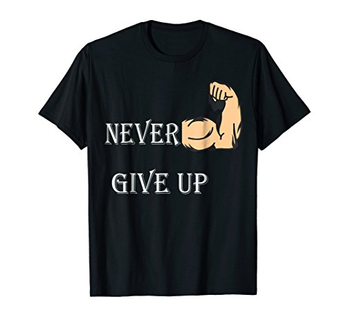 Price comparison product image Never Ever Ever Give Up Motivational Cozmo T-Shirt