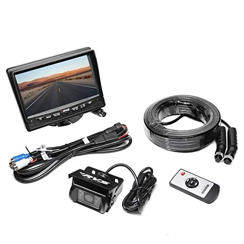 7'' Backup Camera System for RV/Truck/Bus - Waterproof Camera with Night Vision - RVS-770613-NM-01 by Rear View Safety. by Rear View Safety (Image #2)
