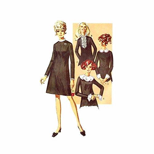 60s dress template - 9