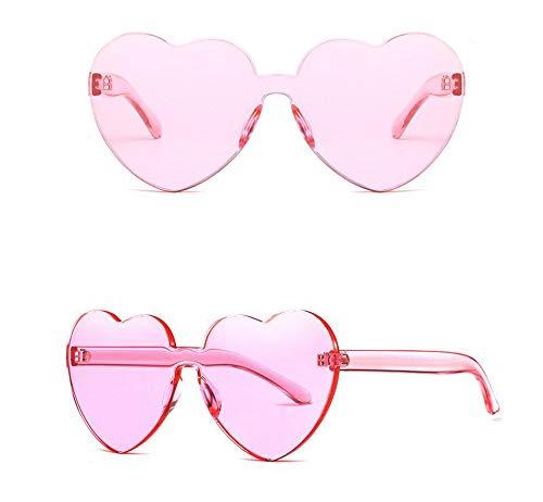 ZHENG Amor Gafas de Sol Europa y América corazón Gafas de ...