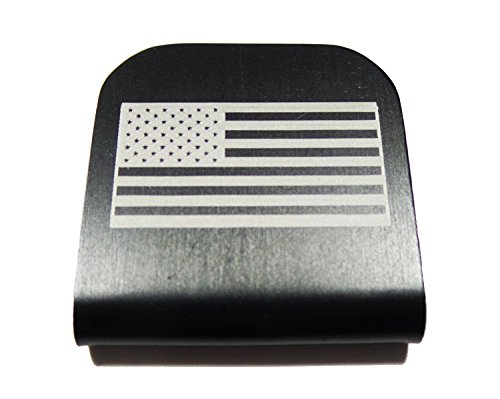 American Flag USA Morale Tags Hat Clip for Tactical Patch Caps (Black) (Navy Seal Beanie Hat)