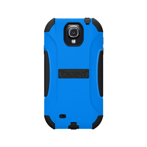 Trident Case AEGIS Series Protective for Samsung Galaxy S4/GT-I9500 - Retail Packaging - Blue