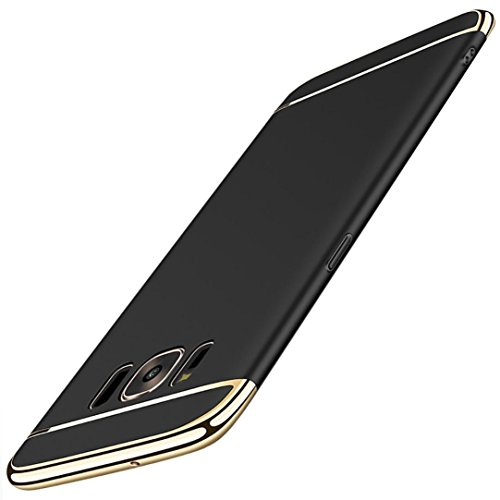 Shockproof Armor Case for Samsung Galaxy S7 Edge (Crystal/Black) - 9