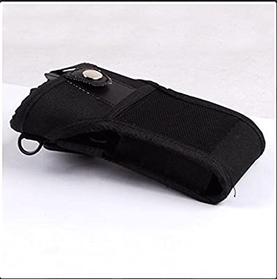 Fabric Holster Compatible for Symbol Motorola Mc3000 Mc3070k Mc3070r Mc3090k Mc3090r Mc3190k Mc3190r Handheld Barcode Scanner 11-69293-0?1r from xfixone