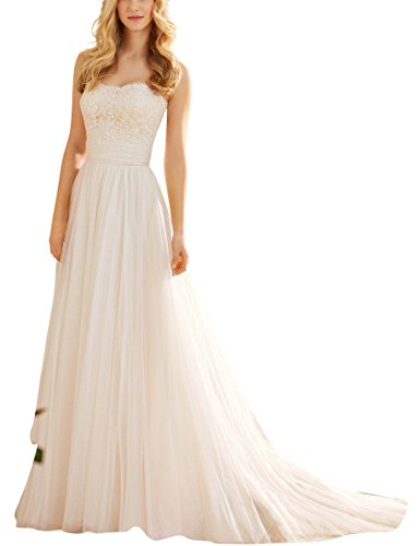 Alencon Lace Gown - 7