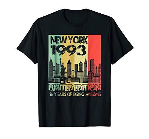 New York 1993 26th Birthday Gift Vintage 1993 Tee Men Women ()