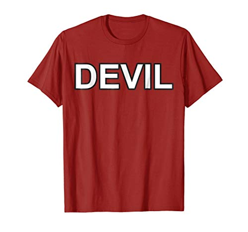 Devil Halloween Shirt Costume Angel Devil Matching Couples -
