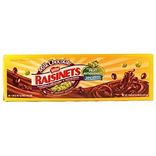 Product Of Raisinets, Milk Chocolate W/Raisins, Count 36 (1.58 oz) - Chocolate Candy / Grab Varieties & Flavors