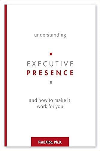 Understanding Executive Presence