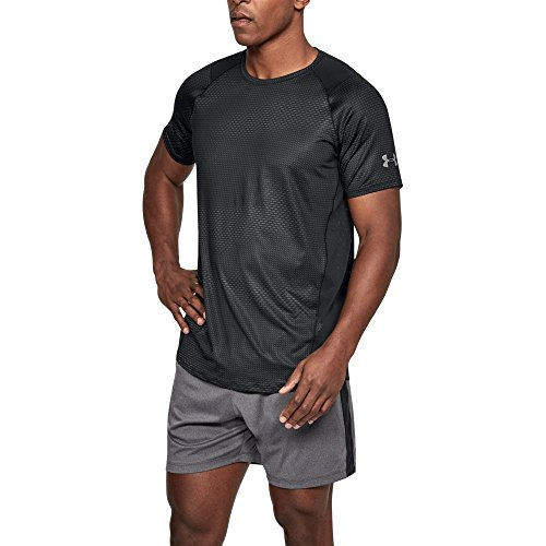 Under Armour Men's MK-1 Short Sleeve, Black (003)/Graphite, XX-Large